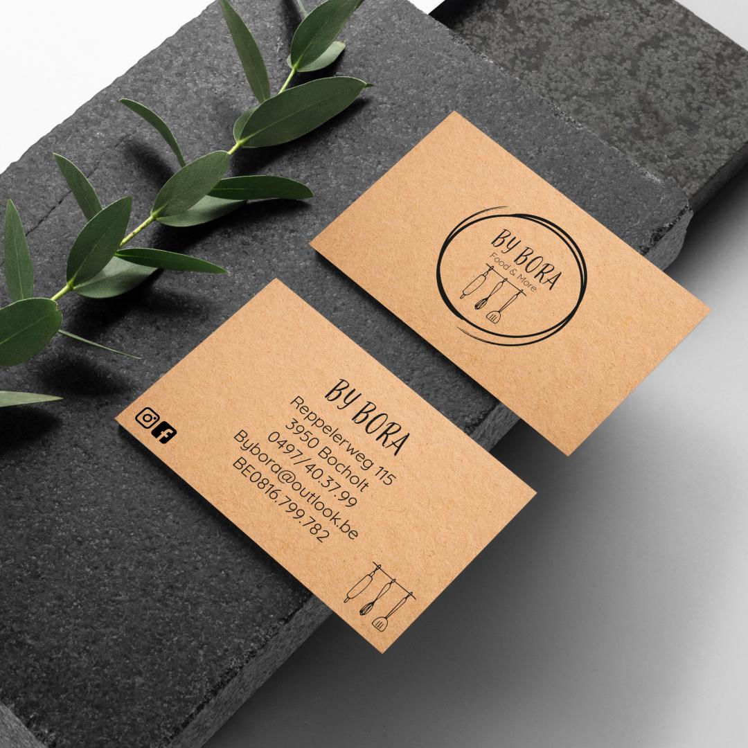 Huisstijl - ByBora Business card