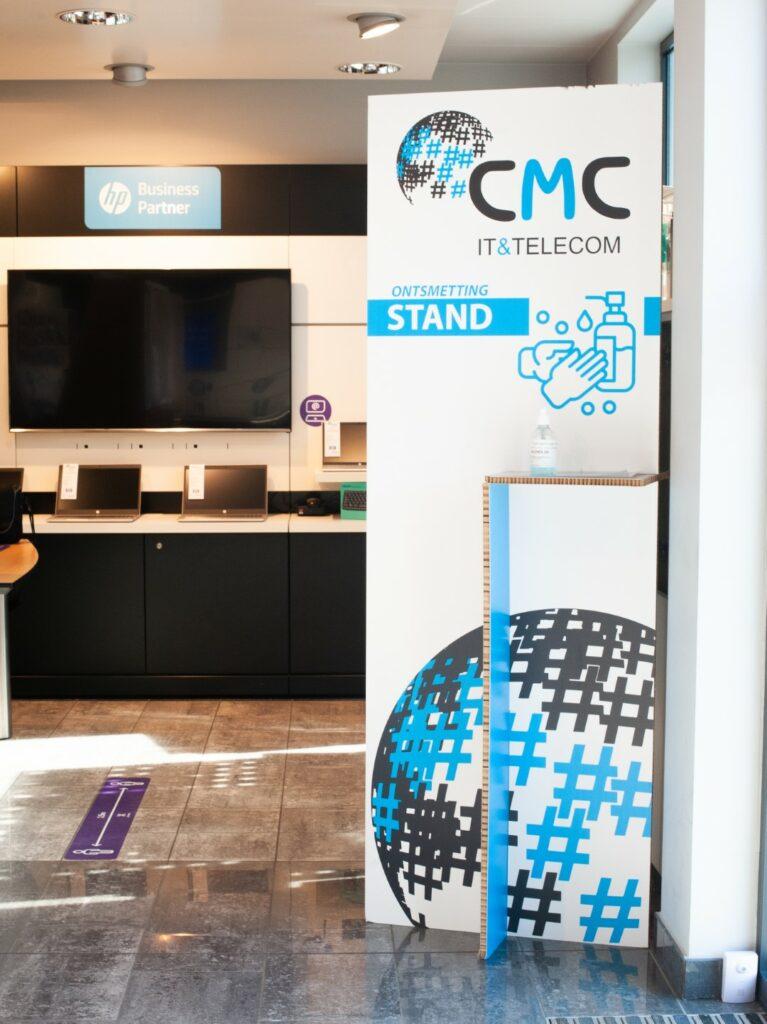 CMC Ontsmettingstand