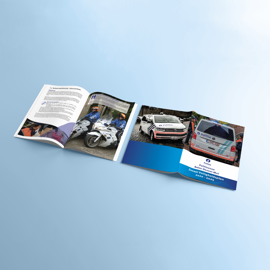 Lay-out politie